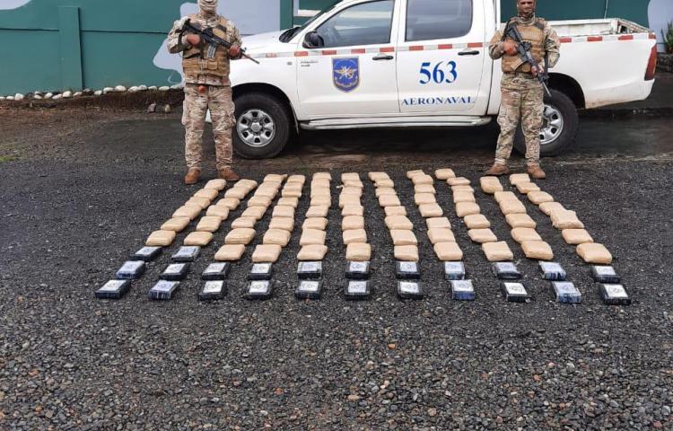Incautan presunta droga enPunta Burica, Chiriquí