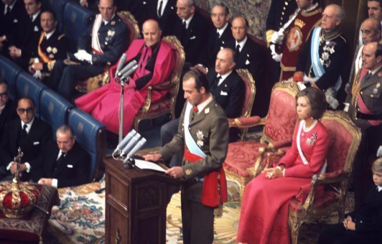 El insólito 45 aniversario de la proclamación del rey Juan Carlos I de España