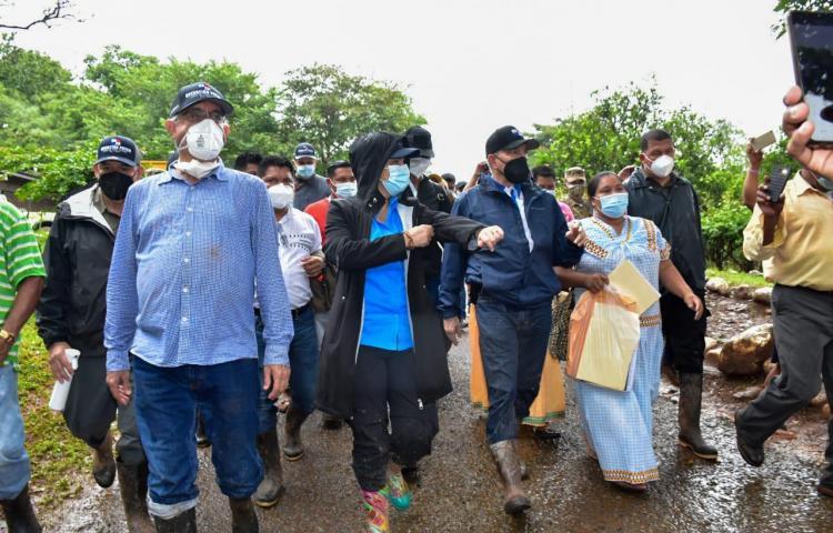 Un total de 984 personas de la Comarca Ngäbe-Buglé recibieron asistencia social