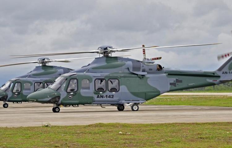 Con garantías vencidas utilizaban helicópteros