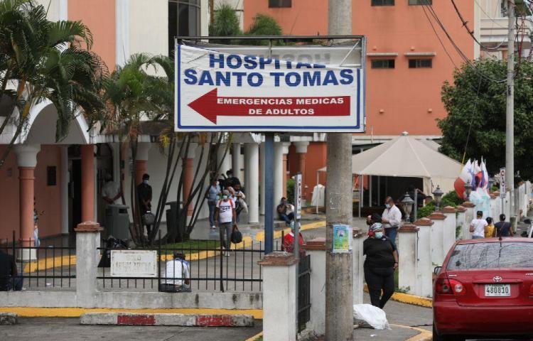 Hospital Santo Tomás en alerta amarilla por covid-19