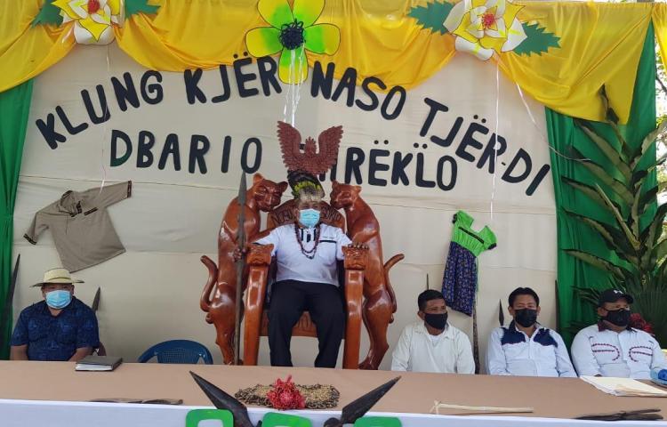 Pueblo Naso pide al Presidente Cortizo sancionar la ley de su comarca en Sieiyick