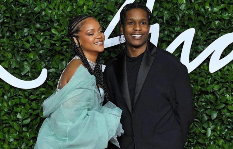 Confirman relación entre Rihanna y A$AP Rocky
