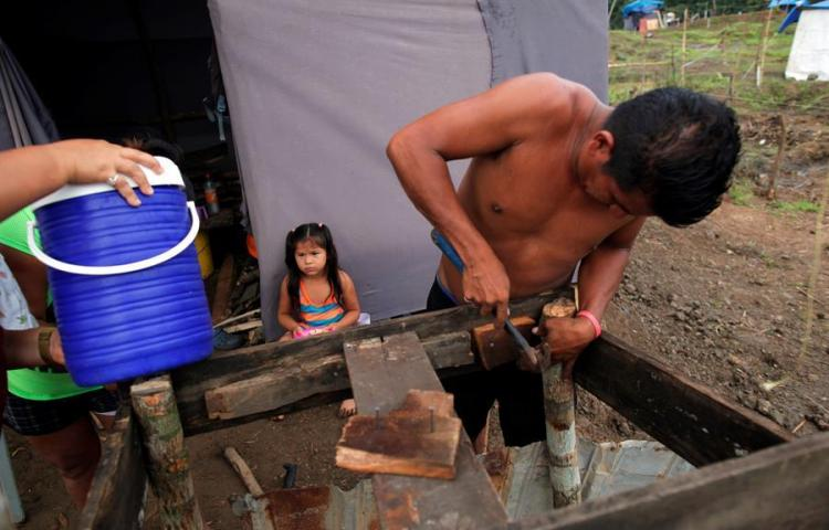 """Invasores en Panamá, la """"lucha"""" por tener una casa en medio de la pandemia"""