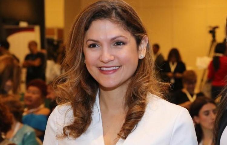 Erika Mouynes, nuevatitular del Ministerio de Relaciones Exteriores