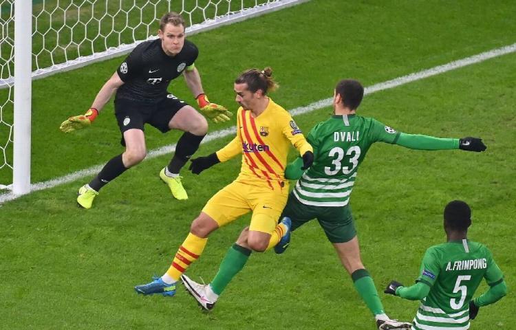 Barcelona golea al Ferencvaros