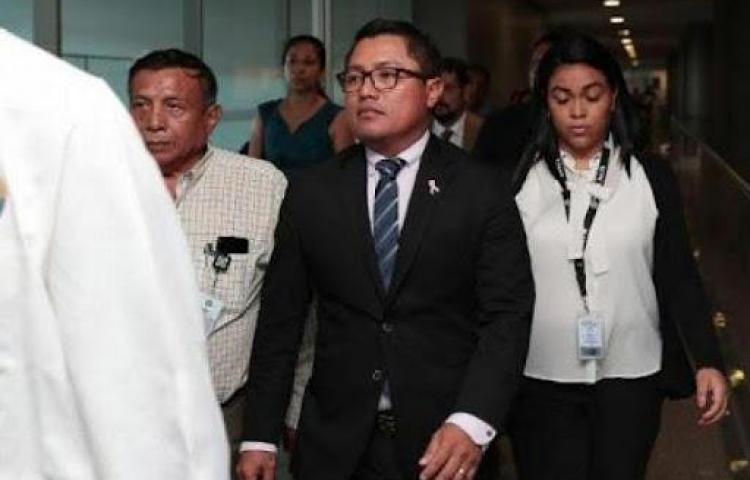 Diputado Arquesio Arias irá a juicio por caso de abuso sexual