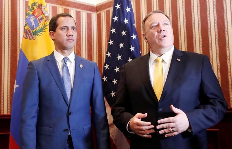 """EE.UU. pide a sus aliados que sigan apoyando a Guaidó tras """"farsa"""" electoral"""