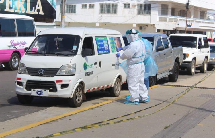 Panamá registra 2422 nuevos contagios de covid-19