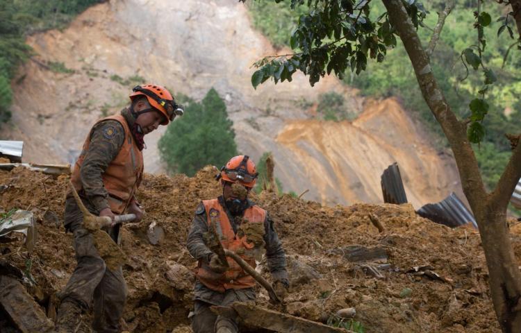 Más de 5,000 personas están en albergues en Guatemala por daños de Eta y Iota