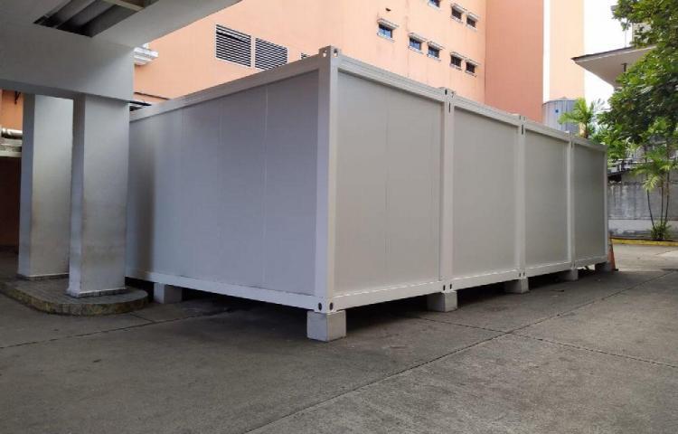 Habilitan morgue modular para los fallecidos por coronavirus en el HST