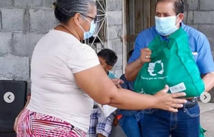 Entregan bolsas de comida a más de 8 mil chiricanos