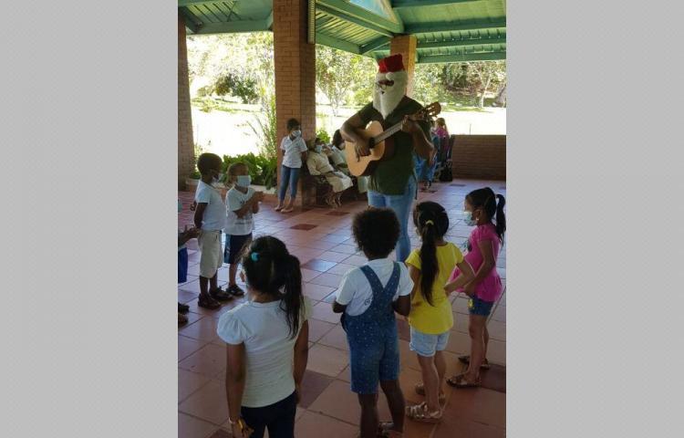 'No olvidemos a los niños de Malambo'