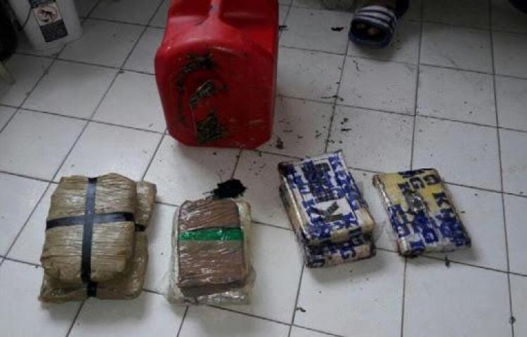 Incautan droga oculta en un hangar en Chepo