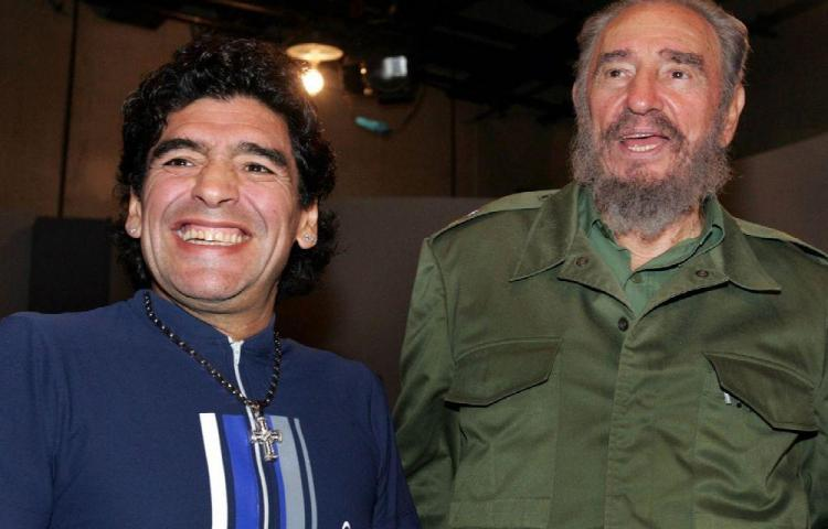 Maradona dejó una casa en La Habana