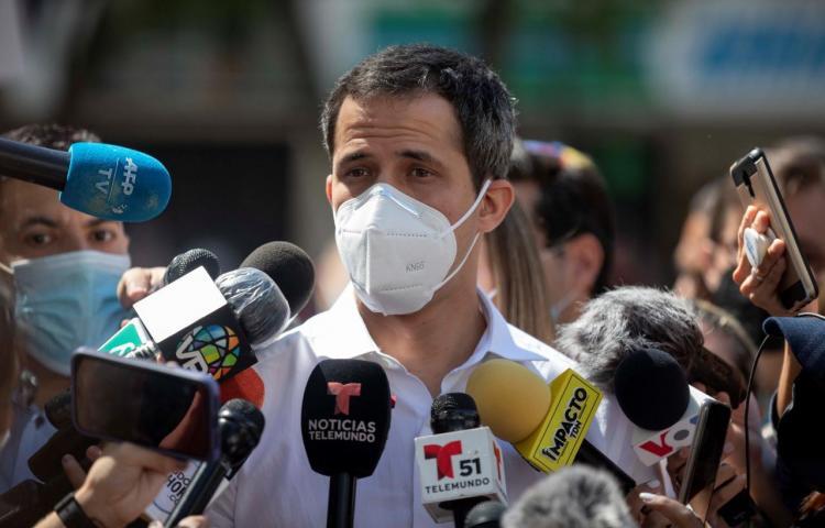 """Guaidó agradece el apoyo de la UE y reitera la lucha por la """"libertad"""" en Venezuela"""