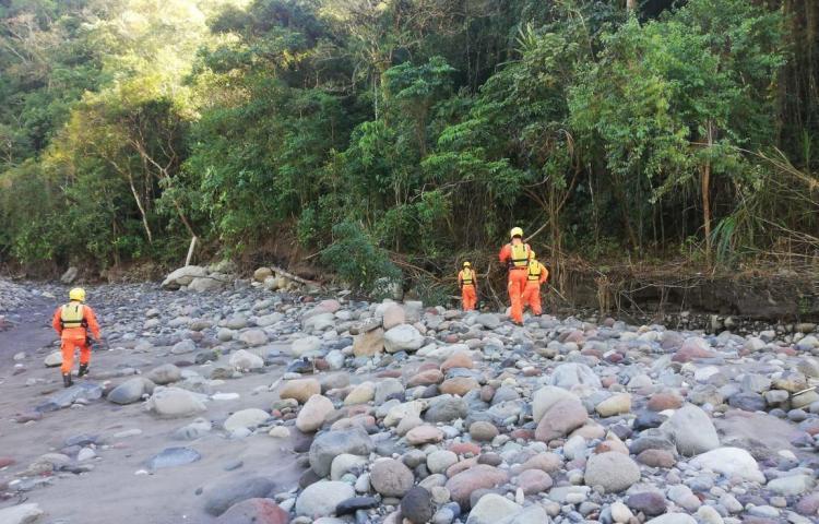 Sigue la búsqueda de desaparecidosen Tierras Altas tras el huracánEta