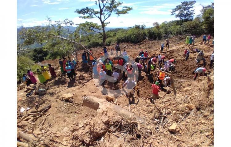 Luego de dos meses autoridades retoman rescate de 6 personas desaparecidas en la comarca