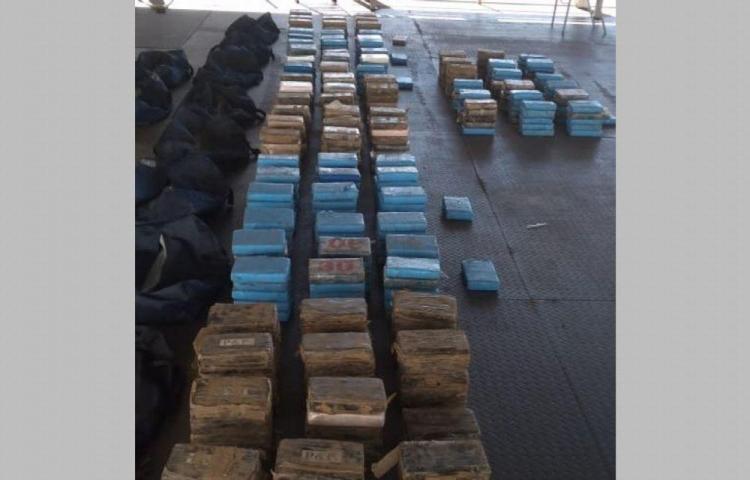 Incautan droga en Ancón que tenía como destino España
