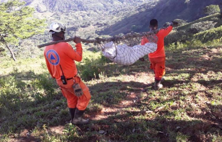 Recuperaron tercer cuerpo de víctima del huracán ETA en la comarca