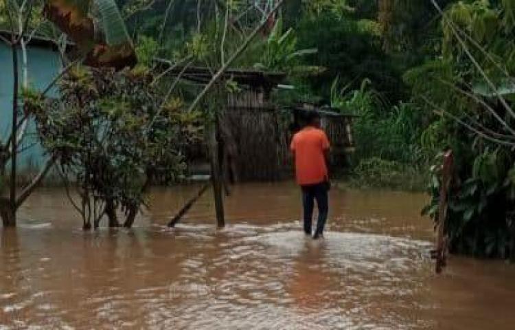 Más de 60 casas afectadas por lluvias en la Costa Arriba de Colón