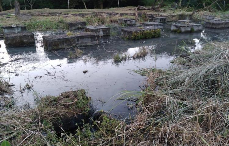 Resuelven problema de aguas negras