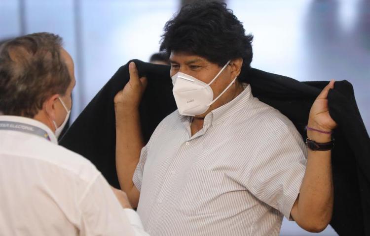 Evo Morales inicia un tratamiento médico tras dar positivo a la covid-19