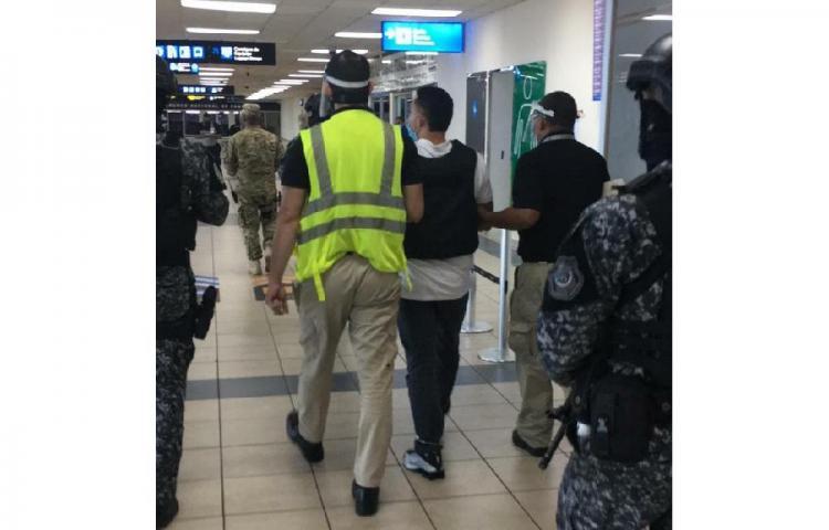 Capturan a hondureño requerido por los EE.UU.