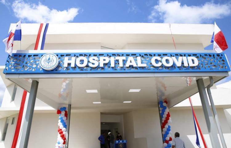 Fotos: Adecuan instalaciones en Ciudad de Salud para pacientes covid-19