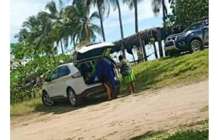 Director comarcal niega responsabilidad sobre auto en la playa Las Lajas