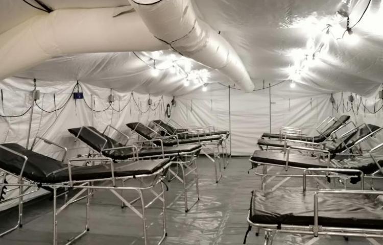 Diez hospitales de campaña más para lucha contra Covid-19