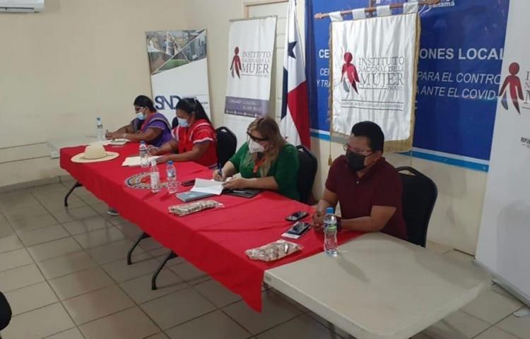 Instalan comisión permanente del INAMU en la ComarcaNgäbe-Buglé