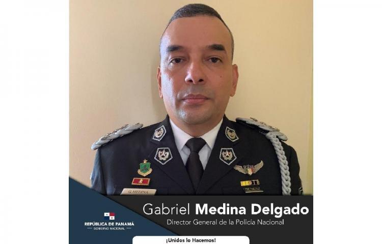 Cortizo designaa Gabriel Medina Delgado como nuevodirector de la Policía Nacional