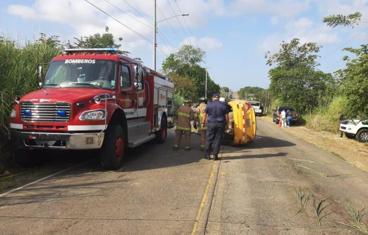 Un fallecido tras accidente de tránsito en Tanara