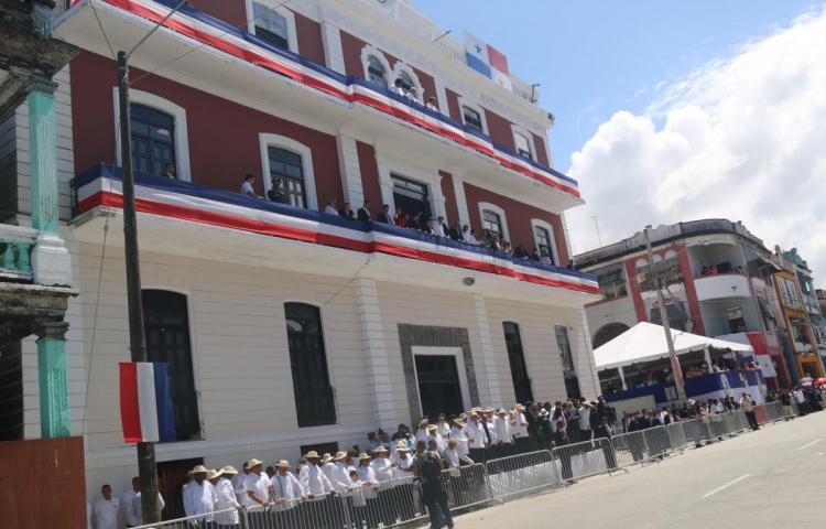 Gobernación de Colón regresa a su antigua casa en el casco de la ciudad