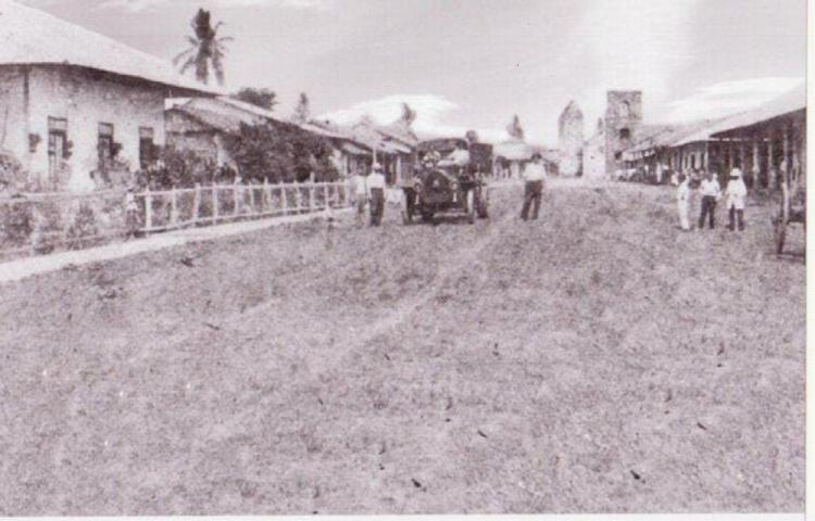 El Santiago de Veraguas del siglo pasado