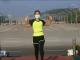 En video. Profesora graba rutina aeróbica durante un golpe de estado