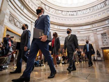 Comienza el juicio político a Trump por el asalto al Capitolio