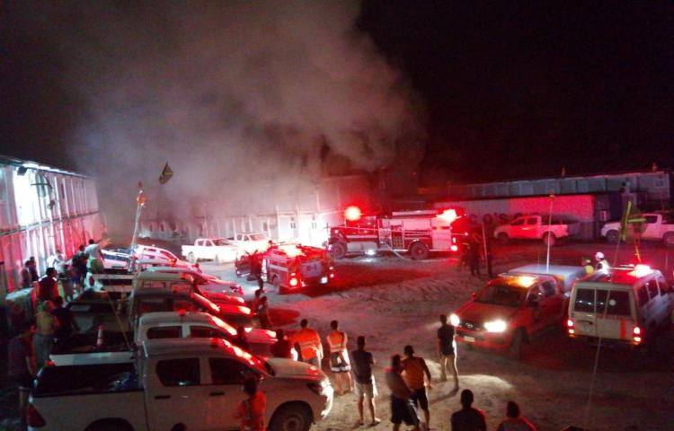 Muere un trabajador de Minera Panamá tras incendio en un módulo de habitaciones