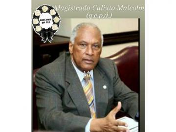 Falleció el magistrado Calixto Malcom