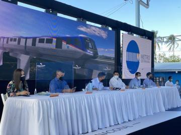 Inicia el proyecto Línea 3 del metro de Panamá con entrega de orden de proceder