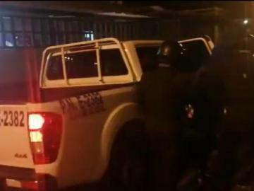 Dispararon contra una patrulla en Colón