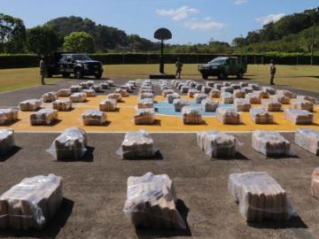 Más de 5 mil paquetes de droga ha incautado el Senan este año