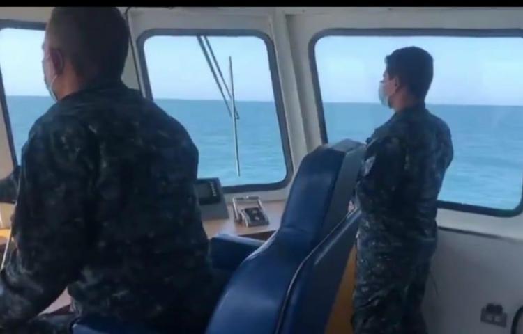 Siguen sin ubicar unidad del SENAN que cayó al mar