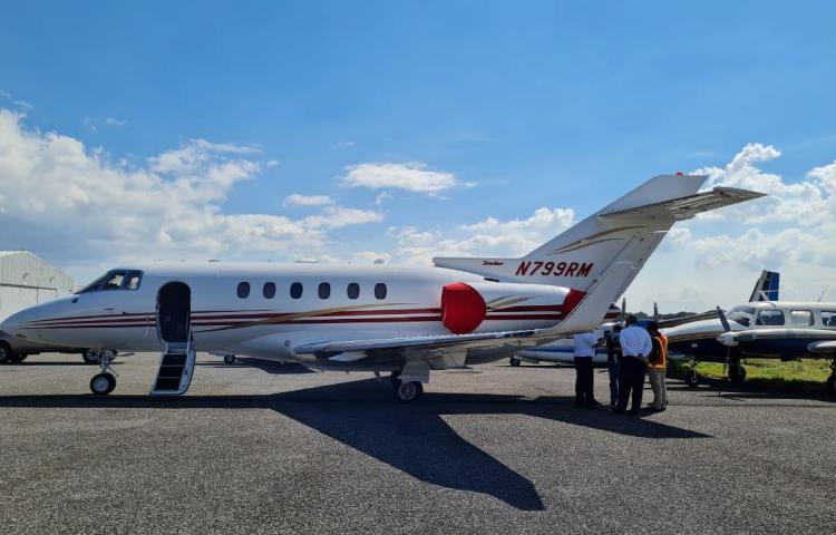 """Martinelli: """"Avión fue retenido en Guatemala por denuncia anónima"""""""