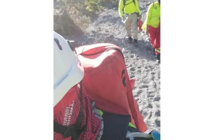 Rescatan a dos senderistas lesionados en el volcán Barú