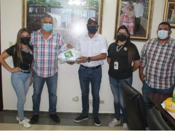 Reciben kits de bioseguridad para jornada de limpieza