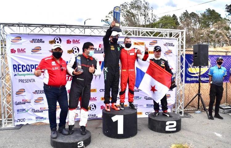 Doble podio para panameño Solly Betesh en el Gran Premio de Costa Rica