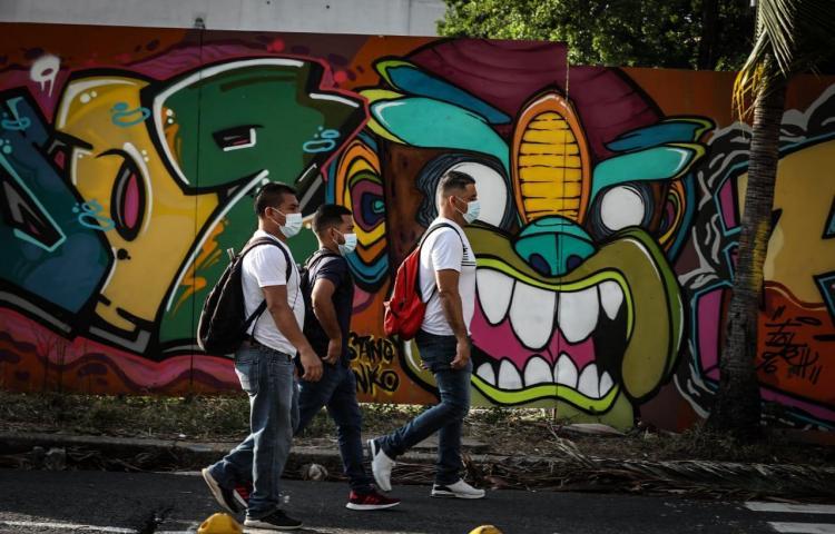 Murales urbanos invaden la ciudad