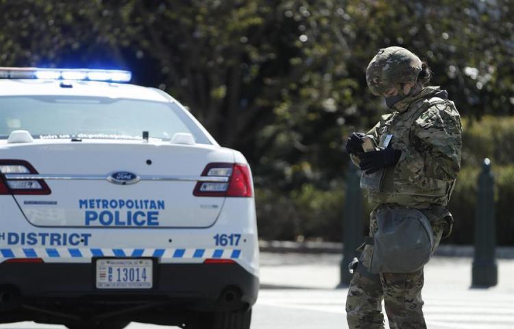 Un policía muerto y otro herido en un nuevo incidente en el Capitolio